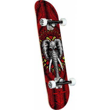 """Powell - Vallely Elephant Red Complete 8.25"""""""