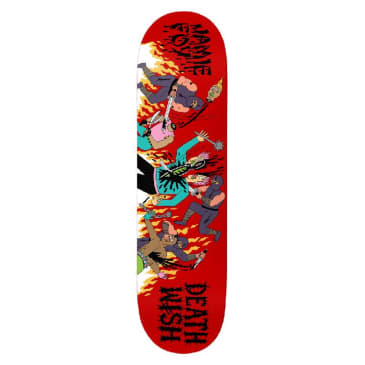 Deathwish Skateboards Jamie Foy Revenge of the Ninja Deck - 8.3875