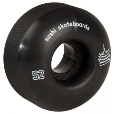Sushi Pagoda Team Skateboard Wheels 52mm - Black