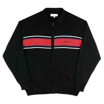 Yardsale Sorrento Knit Full Zip - Black