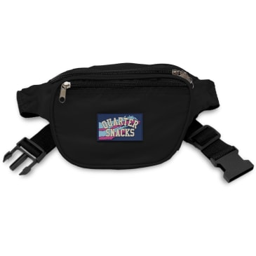 Quartersnacks Party Satchel - Black
