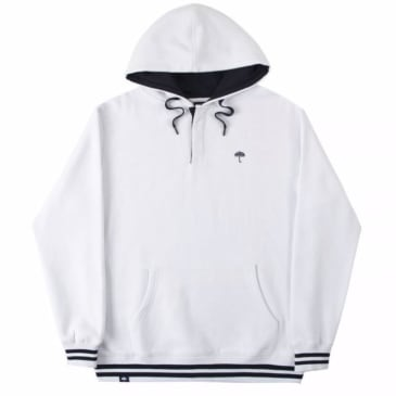 Helas - Buttoned Hoodie - White