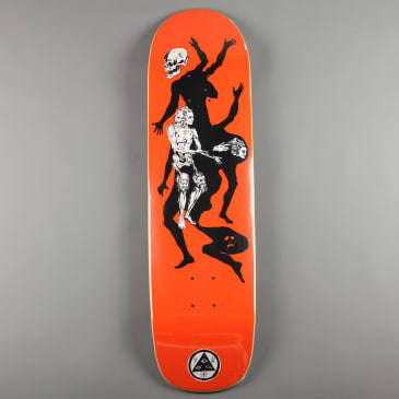"Welcome 'The Magician on Son of Planchette' 8.38"" Deck (Orange)"