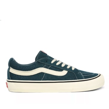 Vans Sk8-Low Reissue SF Skate Shoes - Atlantic Deep / Antique White