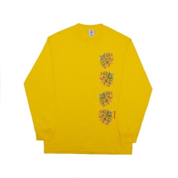 Alltimers Nanas Plates Long Sleeve T-Shirt - Yellow
