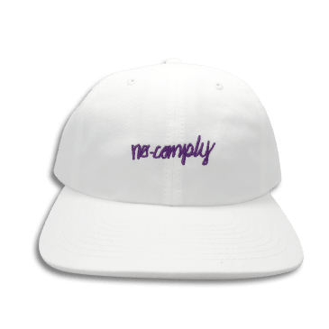 No-Comply 6 Panel Hat