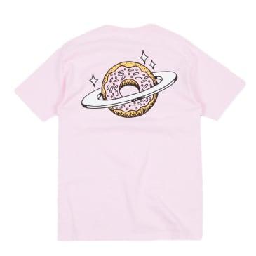 Skateboard Cafe Planet Donut T-Shirt - Pink