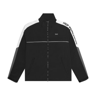 HUF - Lewis Track Jacket - Black/Grey