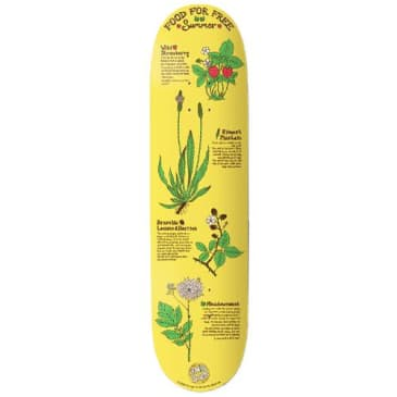 """The Drawing Boards - Food For Free Deck 8"""" Wide"""