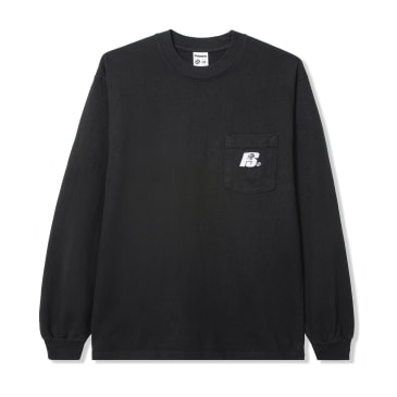 Powers Heavy Long Sleeve T-Shirt - Black
