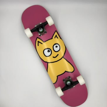 """Meow Skateboards- Team Big Cat Pink Mini Complete 7.25""""x 29"""""""