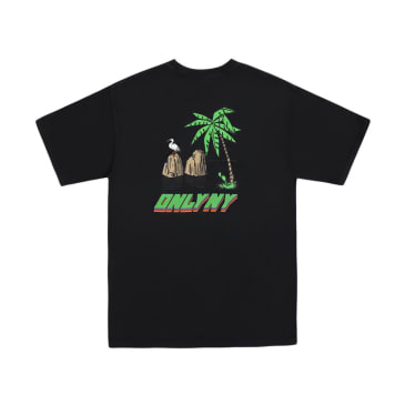 "ONLY NY - ""ISLAND T-SHIRT"" (VINTAGE BLACK)"
