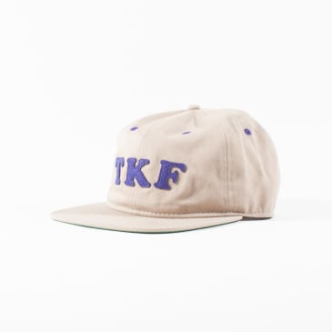 The Killing Floor Garfield 6 Panel Cap - Khaki / Purple