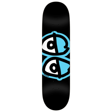 "Krooked Team Eyes Deck 8.06"" (Black)"