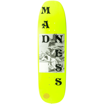 """Madness Skateboards - 8.75"""" Dreams Deck (Neon Yellow)"""