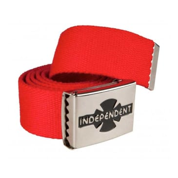 Independent Clipped Belt - Red
