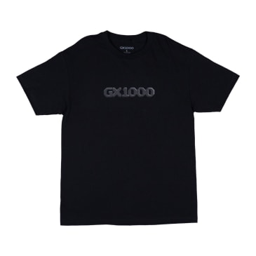 GX1000 Dithered Logo T-Shirt - Black