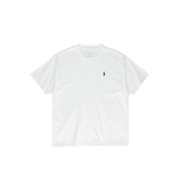 Polar No Comply tee white