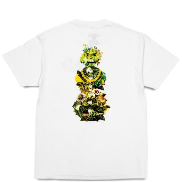 Quartersnacks Botanical Snackman T-Shirt - White