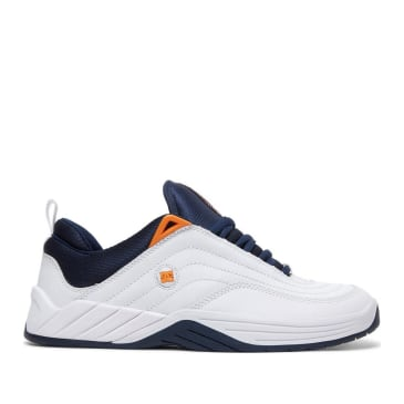 DC Williams Slim S Skate Shoes - White / Navy