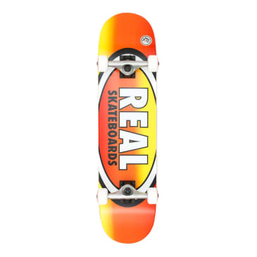 Real Oval Fades Medium Complete Skateboard - 7.75""