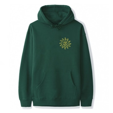 June - Sun Dude #3 Mens Hood - Green, Gold