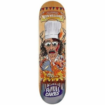 Deathwish Skateboards Neen Williams Carny Skateboard Deck - 8.38