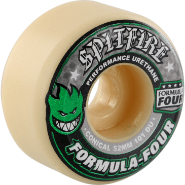 Spitfire F4 101a CONICAL 52mm WHT W/GRN & BLK