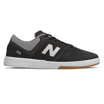 New Balance Numeric 533 Skateboard Shoe - Black/White