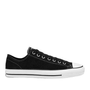 Converse CONS CTAS Pro Low Top Suede Shoes - Black / White