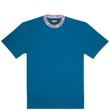 Hockey Ringer T-Shirt - Blue