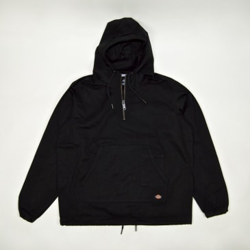 Dickies - Kevil Quarter Zip Hooded Jacket - Black
