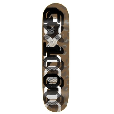 "GX1000 OG Leopard Camo One Skateboard Deck - 8.125"""