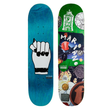 Numbers Mariano Edition 7 Skateboard Deck - 8.1""