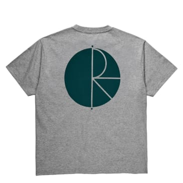 Polar Skate Co Fill Logo T-Shirt - Heather Grey