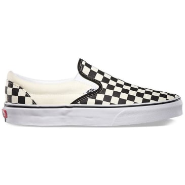Vans Slip-On Classic - Checkerboard Black / White