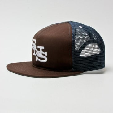 Scumco & Sons 'Merican Made Mesh Brown/Blue
