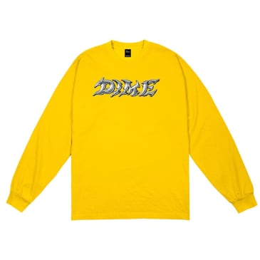 Dime Blade Long Sleeve T-Shirt - Gold