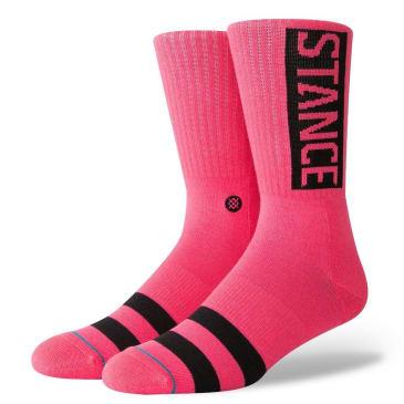 Stance Socks - Stance OG Socks | Neon Pink