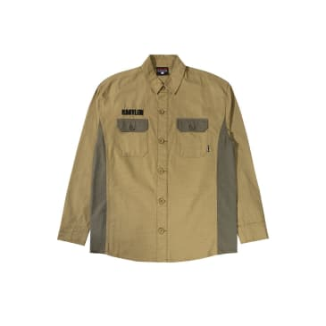 Babylon LA Ripstop Button-Up - Olive