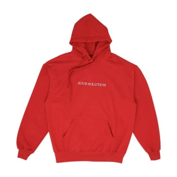 Sour Solution Hoodie - Red