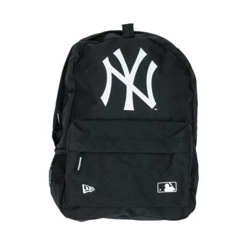 New Era New York Yankees Stadium Backpack - Black/White