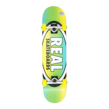 """Real Oval Fades Small Complete Skateboard - 7.5"""""""