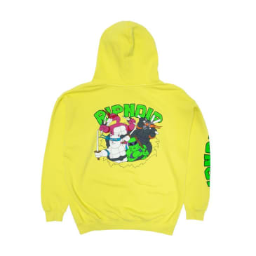 Rip N Dip Teenage Mutant Hoodie - Neon Green