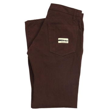 Domestics- Midweight Pants Brown