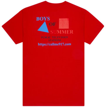 Boys Of Summer Cpb T-Shirt - Red