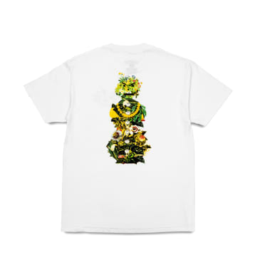Quartersnacks Botanical Snackman T-Shirt - White