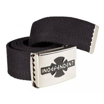 Independent Clipped Web Belt - Black