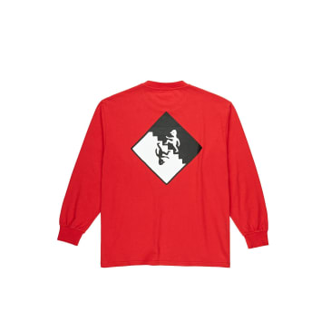 Polar Skate Co Staircase Long Sleeve T-Shirt - Red
