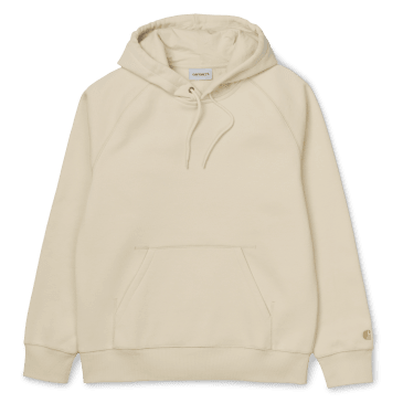 Carhartt WIP Hooded Chase Sweatshirt - Flour/Gold